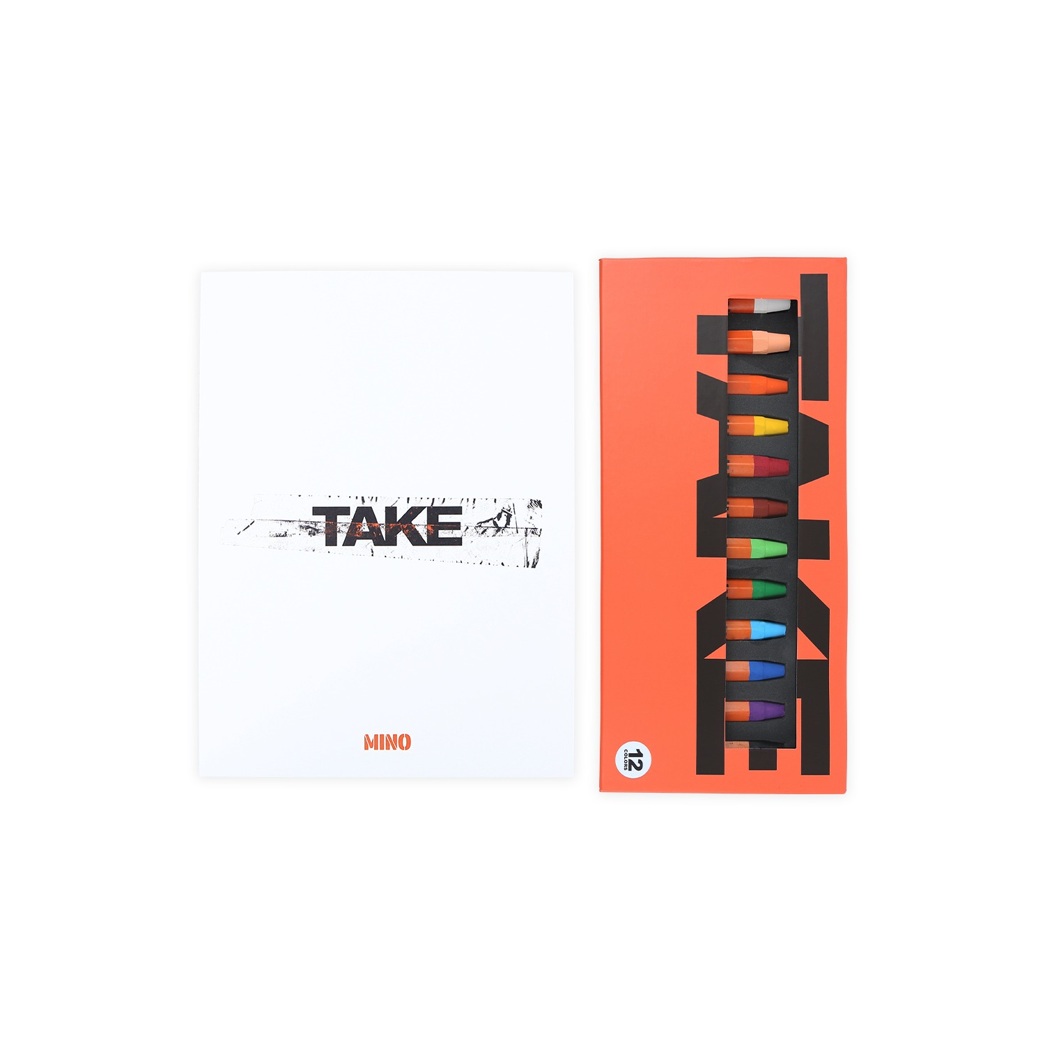 [TAKE] MINO ARCHIVING BOOK + CRAYON SET
