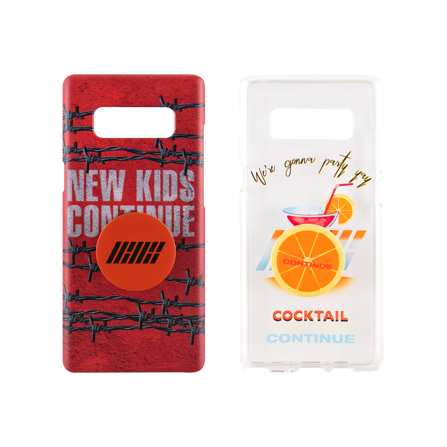 [WOYC] iKON CONTINUE PHONECASE + GRIP HOLDER SET_TYPE 1,2