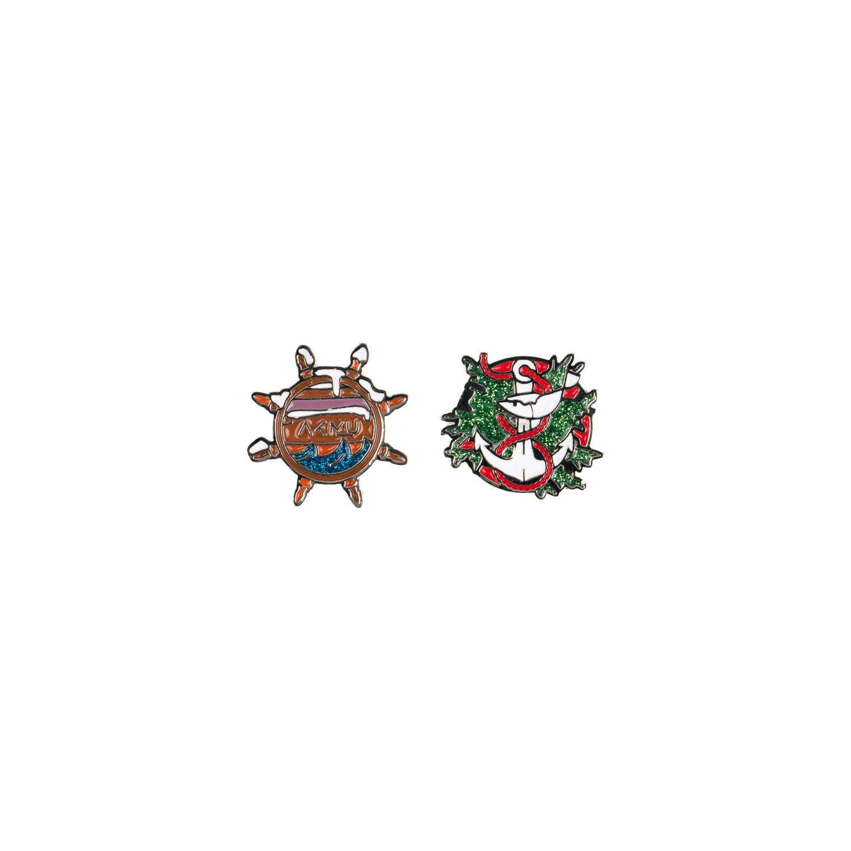 [YGBOX7] AKMU CHRISTMAS BADGE SET