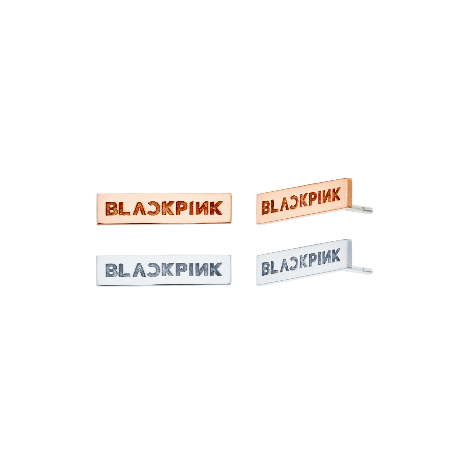 [KIND] BLACKPINK SILVER EARRINGS