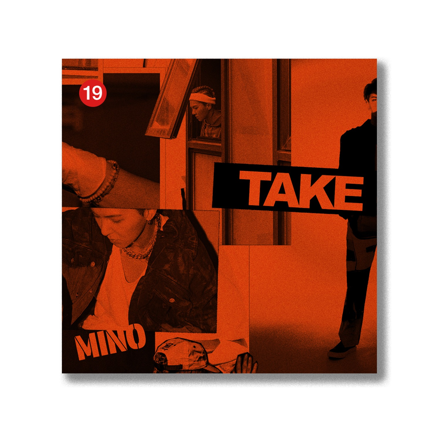 MINO 2nd FULL ALBUM 'TAKE' -LIMITED KiT ver.-