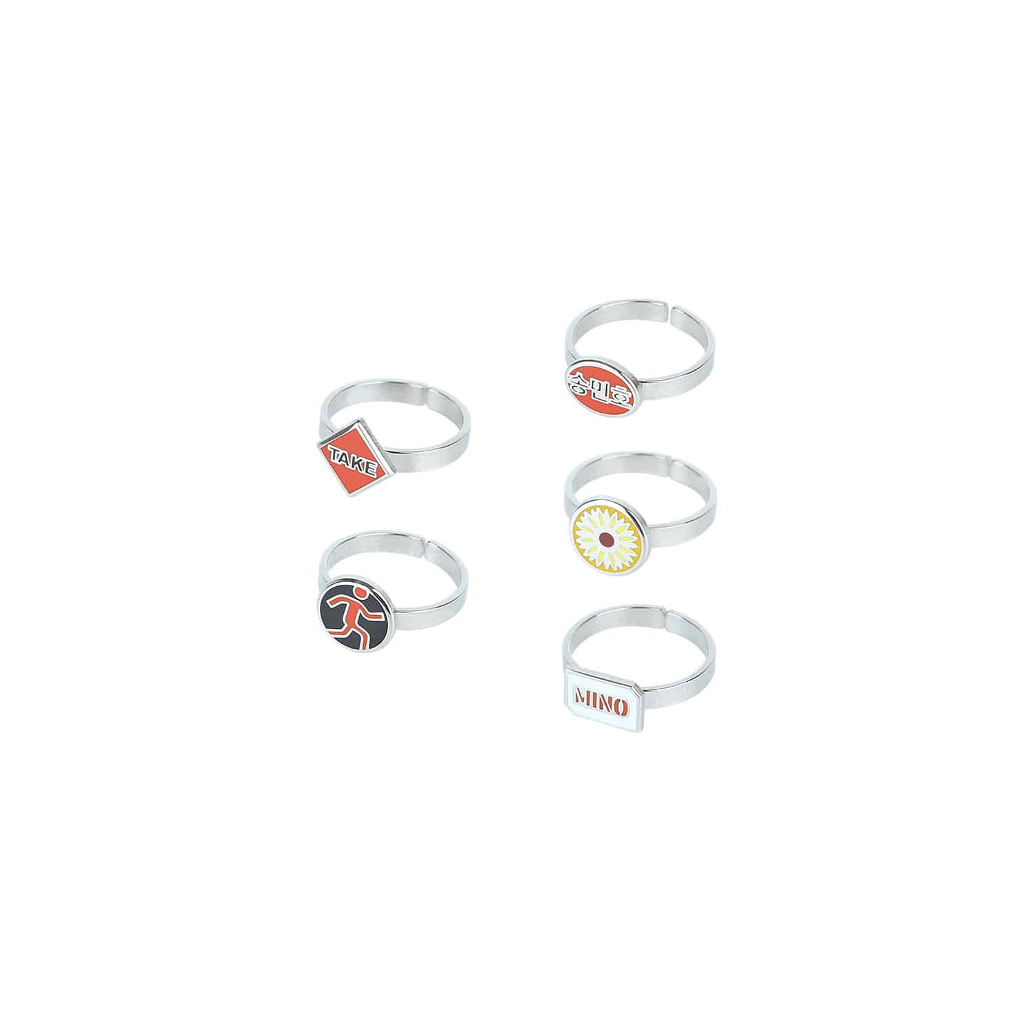 [TAKE] MINO RINGS SET