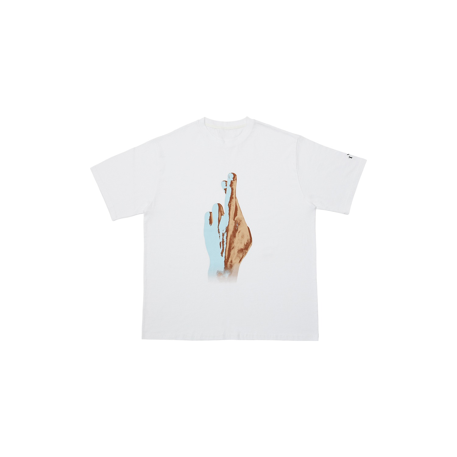 [XACADEMY] OVERFIT T-SHIRTS_WHITE