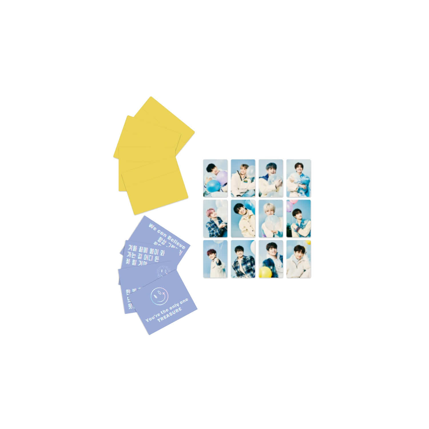 [MYTREASURE] TREASURE LYRICS CARDS + PHOTOCARDS SET