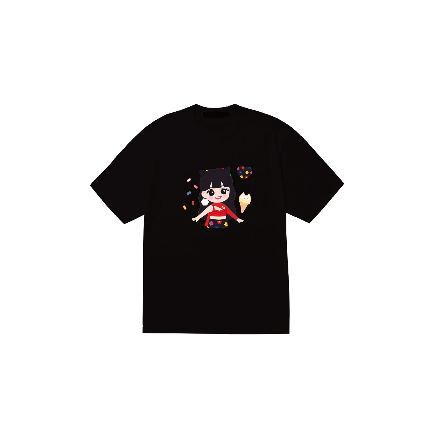 [SOPOOOM] BLACKPINK THE SHOW CHARACTER T-SHIRTS_LISA TYPE 1