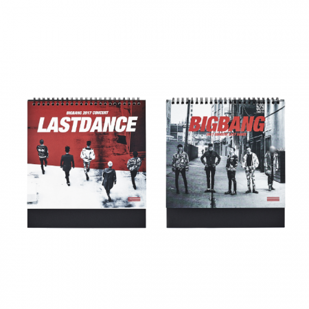 [LASTDANCE] BIGBANG 2018 CALENDAR