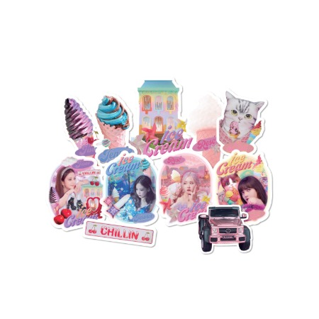 [PATCHMANIA] BLACKPINK ICECREAM MV STICKER