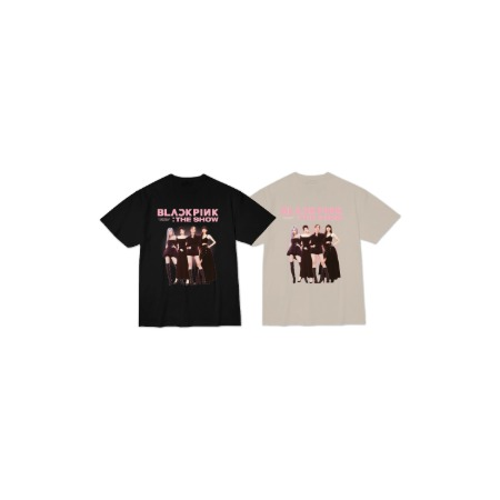 [SOPOOOM] BLACKPINK THESHOW T-SHIRTS_TYPE 2