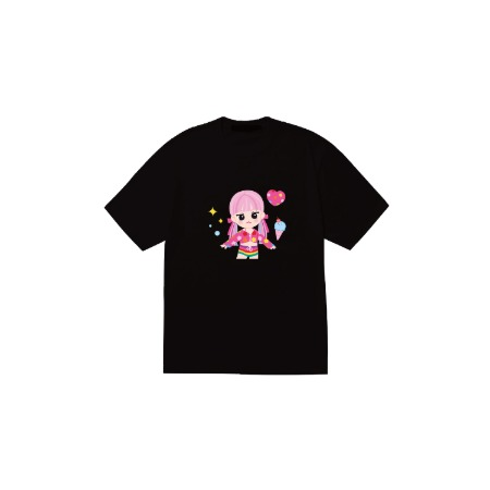 [SOPOOOM] BLACKPINK THE SHOW CHARACTER T-SHIRTS_JENNIE TYPE 1