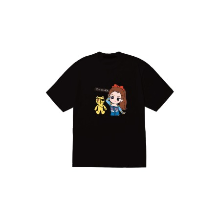 [SOPOOOM] BLACKPINK THE SHOW CHARACTER T-SHIRTS_JENNIE TYPE 3