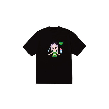 [SOPOOOM] BLACKPINK THE SHOW CHARACTER T-SHIRTS_ROSE TYPE 1