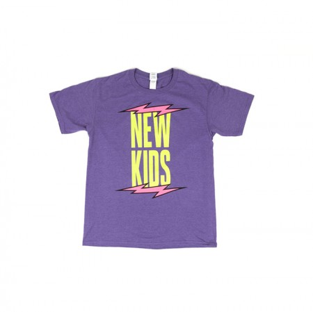 [NEWKIDS] iKON T-SHIRTS TYPE 2_PURPLE