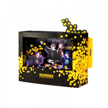 SECHSKIES CONCERT POP-UP CARD
