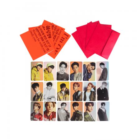 [YGBOX7] iKON CHRISTMAS CARD SET