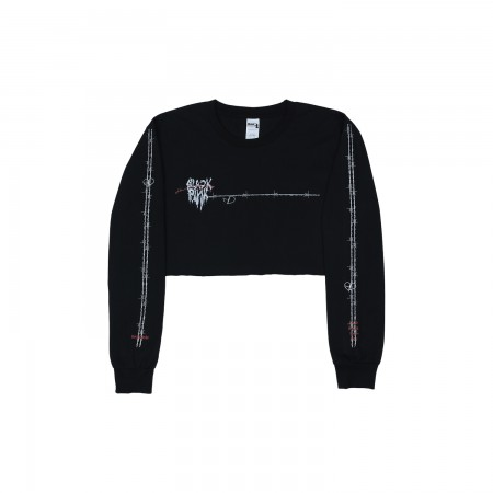 [H.Y.L.T] BLACKPINK LONG SLEEVE T-SHIRTS_MELTING HEART_BLACK