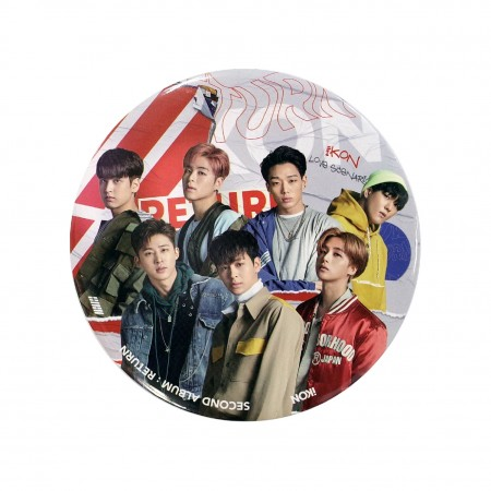 [RETURN] iKON PHOTO STAND / PIN BUTTON