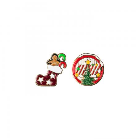 [YGBOX7] iKON CHRISTMAS BADGE SET