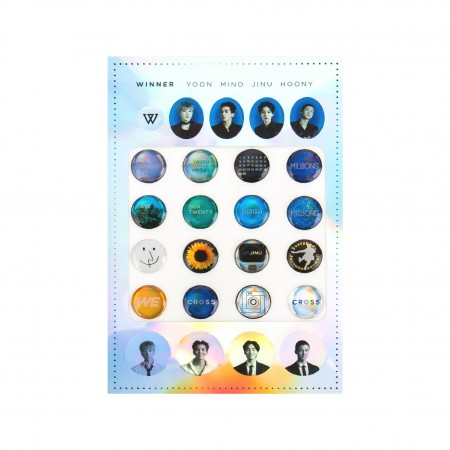 [REMEMBER] WINNER EPOXY STICKER