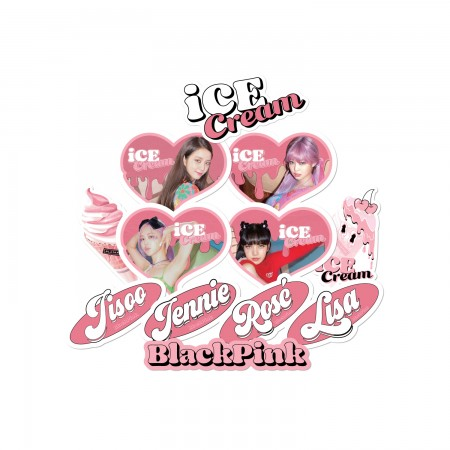 [PATCHMANIA] BLACKPINK ICECREAM STICKER