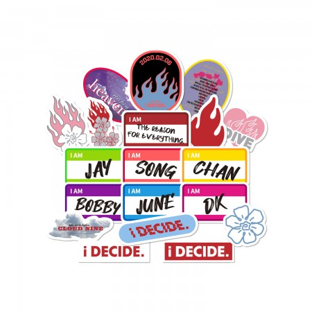 [PATCHMANIA] iKON iDECIDE STICKER