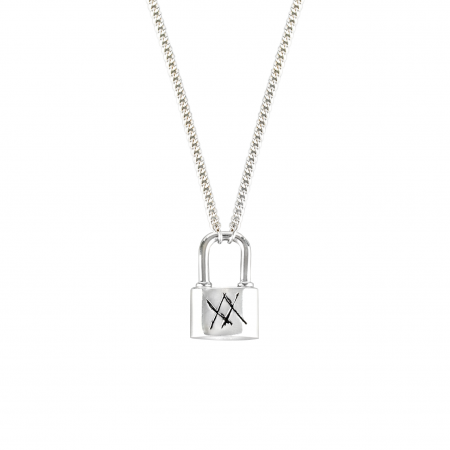 [WEORNEVER] WINNER MINO'S SILVER NECKLACE