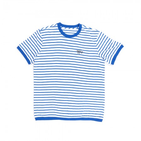 [SUMMER] iKON STRIPE BLUE T-SHIRTS