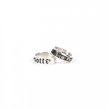 [MOTTE] G-DRAGON SILVER RING
