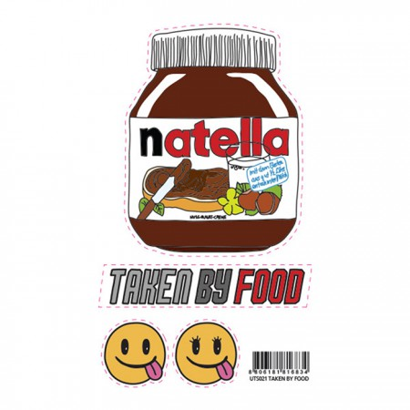 [PATCHMANIA] 열스티커_TAKEN BY FOOD