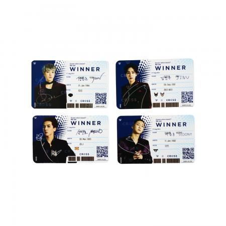 [CROSS] WINNER ID CARD SET
