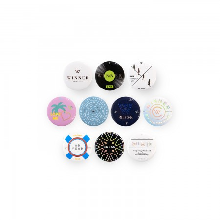 [6THWINNER] WINNER PIN BUTTON